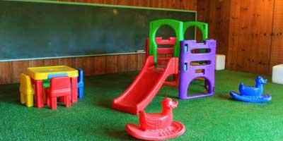 Conservação do Playground em Restaurante | Portal Sem Choro