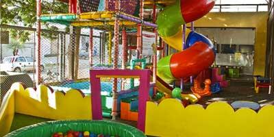 Restaurante com Espaço Kids e Playground | Portal Sem Choro