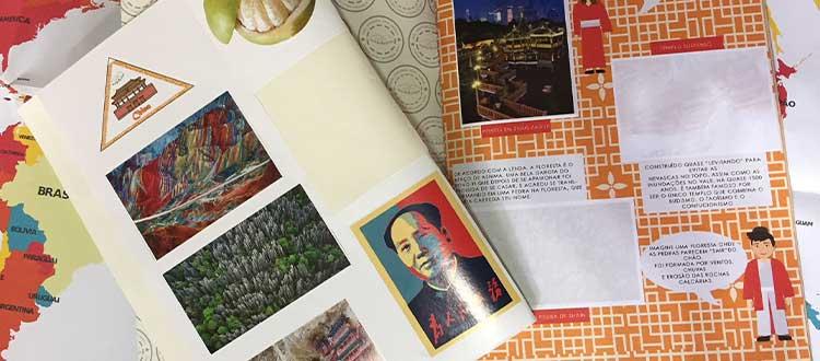 Álbum de Figurinhas | Pequenos Mochileiros | Publieditorial Sem Choro