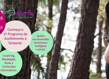 Butterfly Coração Tentante