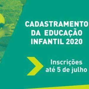 O Cadastramento Escolar 2019 já está disponível pela internet