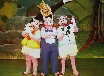 Os Três Porquinhos - Clássico   45 CPTD   Portal Sem Choro