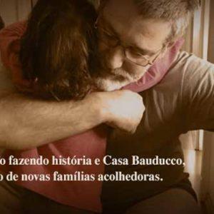 Dia de Doar: Instituto Fazendo História e Casa Bauducco, juntos, pela formação de novas famílias acolhedoras