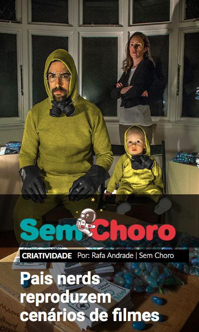 Web Stories - Pais nerds reproduzem cenas de filmes em fotos com os filhos