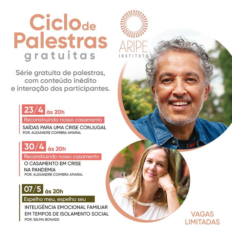 Ciclo de Palestras Alexandre Coimbra